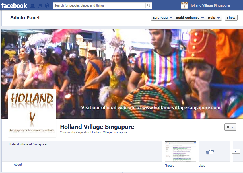 The Holland-Village-Singapore Facebook Page